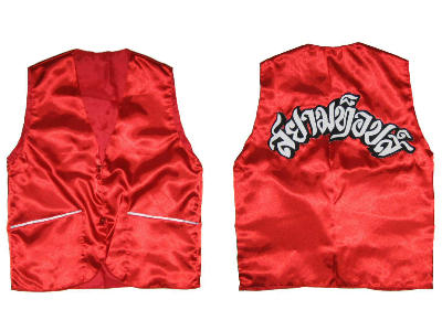 Customized Muay Thai Corner-man Vest