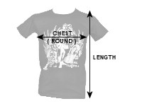 HAN Muay Thai shirts sizing