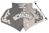 Siamtops Muay Thai shorts size for kids, boy, girl, child, children