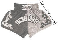 Siamtops Muay Thai shorts size for kids, boy, girl, child, children