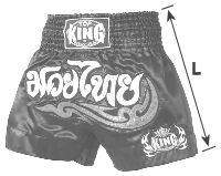 TOP KING Muay Thai size