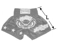 TWINS Special Muay Thai size