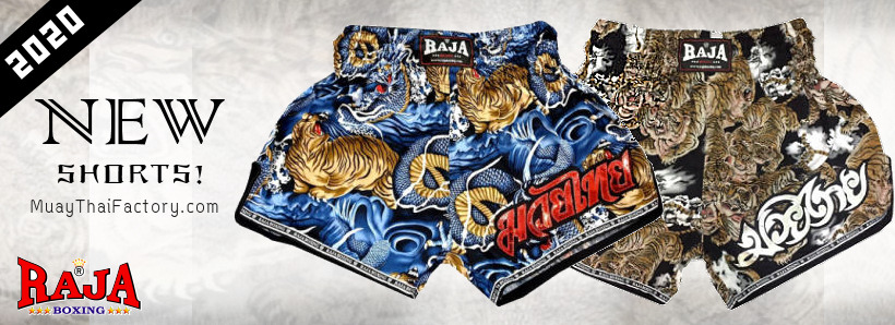 Raja Boxing - New shorts 2020