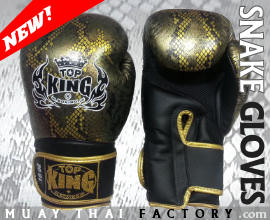 top king gloves - snake