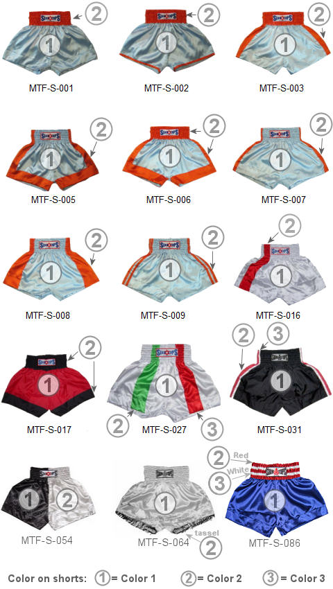 muay thai shorts wholesale options